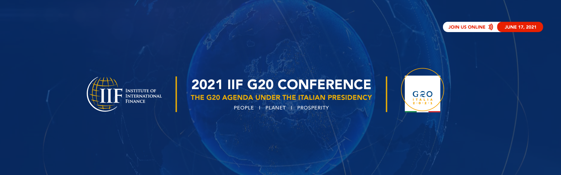 2021 IIF G20 Conference: The G20 Under the Italian Presidency